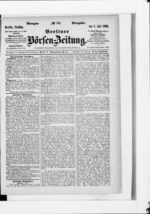 Berliner Börsen-Zeitung vom 03.07.1883