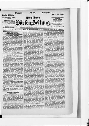 Berliner Börsen-Zeitung vom 04.07.1883