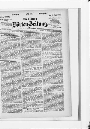 Berliner Börsen-Zeitung vom 08.07.1883