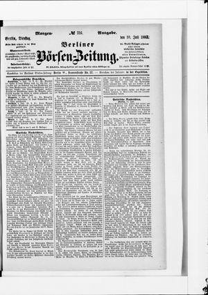Berliner Börsen-Zeitung vom 10.07.1883