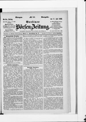 Berliner Börsen-Zeitung vom 13.07.1883