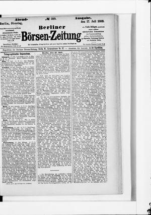 Berliner Börsen-Zeitung vom 17.07.1883