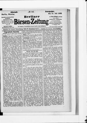 Berliner Börsen-Zeitung vom 24.07.1883