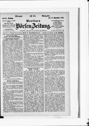 Berliner Börsen-Zeitung vom 16.09.1883