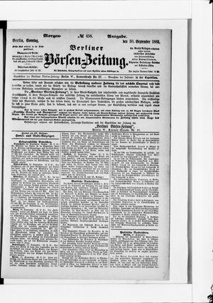 Berliner Börsen-Zeitung vom 30.09.1883