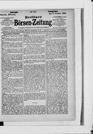Berliner Börsen-Zeitung vom 03.10.1883