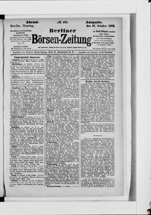 Berliner Börsen-Zeitung vom 16.10.1883