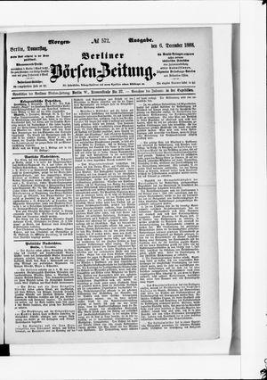 Berliner Börsen-Zeitung vom 06.12.1883