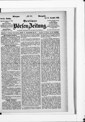 Berliner Börsen-Zeitung vom 23.12.1883