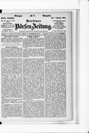 Berliner Börsen-Zeitung vom 09.02.1884