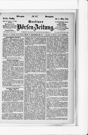 Berliner Börsen-Zeitung vom 04.03.1884