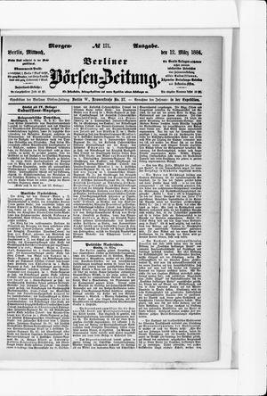 Berliner Börsen-Zeitung vom 12.03.1884