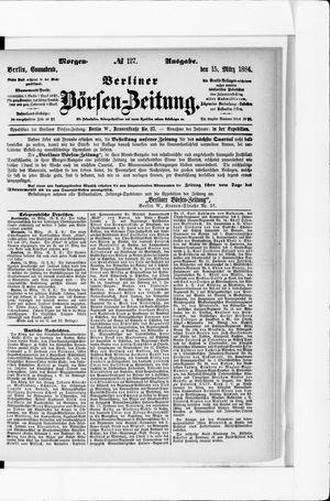 Berliner Börsen-Zeitung vom 15.03.1884