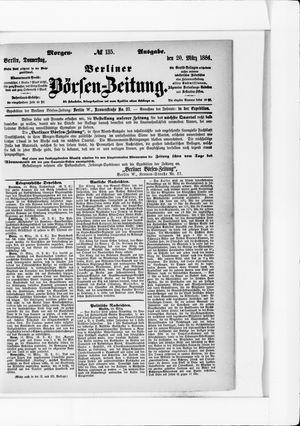 Berliner Börsen-Zeitung vom 20.03.1884