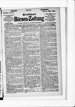 Berliner Börsen-Zeitung vom 28.03.1884