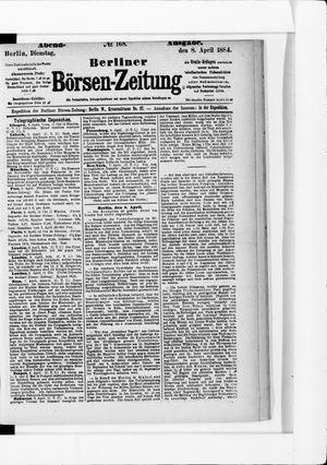 Berliner Börsen-Zeitung vom 08.04.1884
