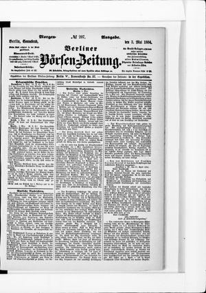 Berliner Börsen-Zeitung vom 03.05.1884