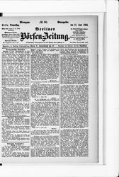 Berliner Börsenzeitung (19.06.1884)