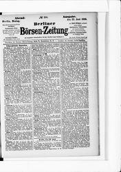 Berliner Börsenzeitung (23.06.1884)