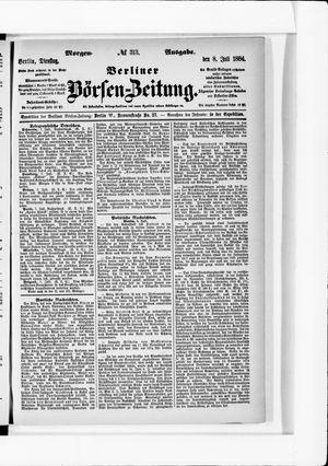 Berliner Börsen-Zeitung vom 08.07.1884