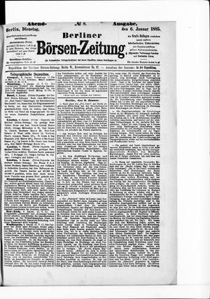 Berliner Börsen-Zeitung vom 06.01.1885
