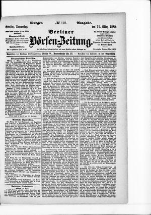 Berliner Börsen-Zeitung vom 12.03.1885