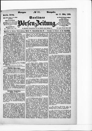 Berliner Börsen-Zeitung vom 13.03.1885