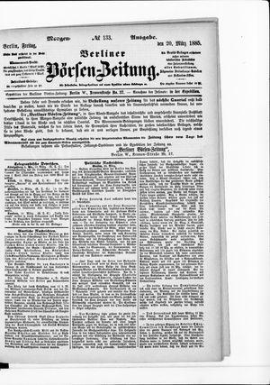 Berliner Börsen-Zeitung vom 20.03.1885