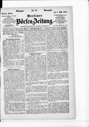 Berliner Börsen-Zeitung vom 03.04.1885
