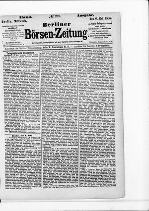 Berliner Börsen-Zeitung on May 6, 1885