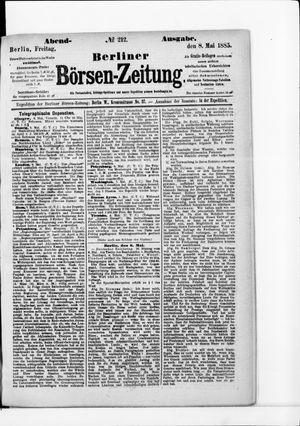 Berliner Börsen-Zeitung vom 08.05.1885