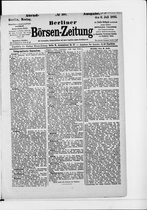 Berliner Börsen-Zeitung vom 06.07.1885