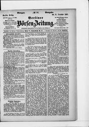 Berliner Börsen-Zeitung (18.12.1885)