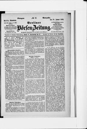 Berliner Börsen-Zeitung vom 30.01.1886