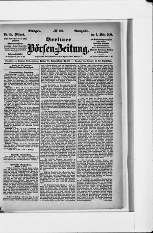 Berliner Börsen-Zeitung vom 03.03.1886