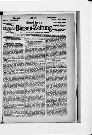 Berliner Börsen-Zeitung on Mar 6, 1886