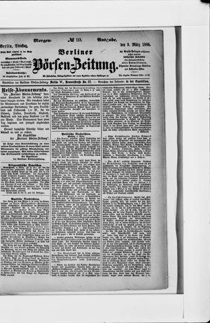 Berliner Börsen-Zeitung vom 09.03.1886