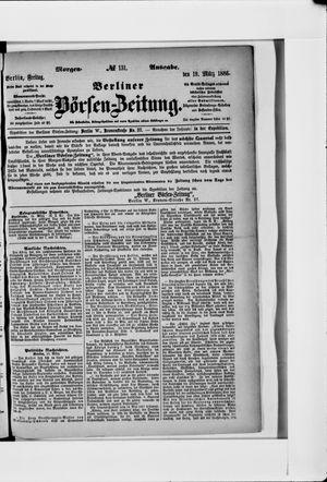 Berliner Börsen-Zeitung vom 19.03.1886