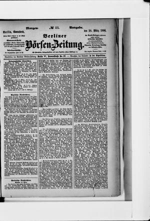 Berliner Börsen-Zeitung vom 20.03.1886