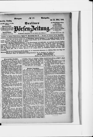 Berliner Börsen-Zeitung vom 23.03.1886