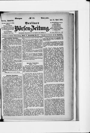 Berliner Börsen-Zeitung vom 10.04.1886