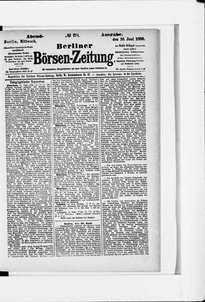 Berliner Börsen-Zeitung vom 16.06.1886