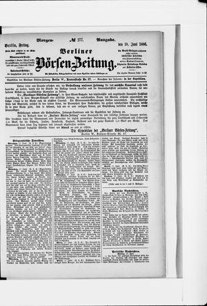 Berliner Börsen-Zeitung vom 18.06.1886