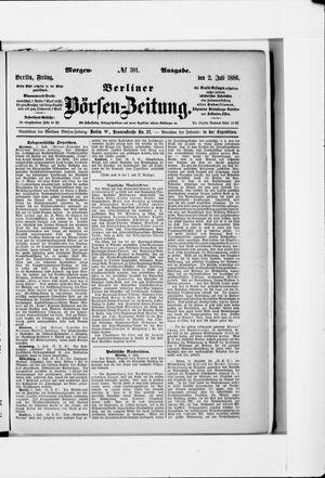Berliner Börsen-Zeitung vom 02.07.1886