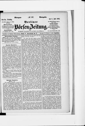 Berliner Börsen-Zeitung vom 06.07.1886