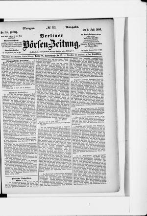 Berliner Börsen-Zeitung vom 09.07.1886