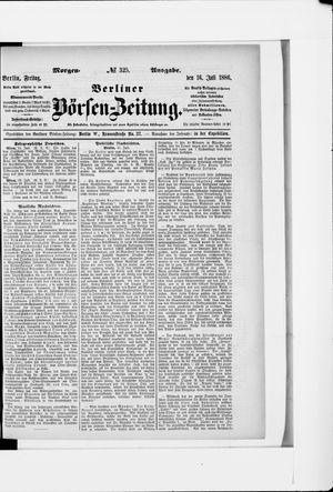 Berliner Börsen-Zeitung vom 16.07.1886