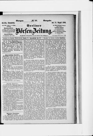 Berliner Börsen-Zeitung vom 28.08.1886