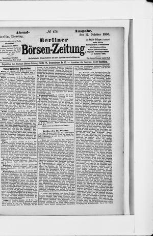 Berliner Börsen-Zeitung vom 12.10.1886