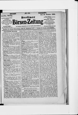 Berliner Börsen-Zeitung vom 18.10.1886